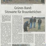 2018 04 04 Grünes Band - Sitzwarte für Braunkehlchen