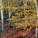Hirschpark Blankenese Pastell 30 x 45