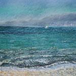 Bucht von Palma 30 x 40 Pastell