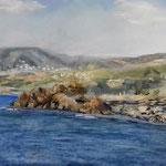 Bucht  Pastell 30 x 45