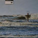 Sturmflut 50 x 60 Pastell
