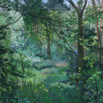 Heistmer Wald 30 x 40 Pastell
