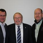 v.l.: Olaf Schmidt (2.VS), Uwe Herzberg (1.VS), Olaf Hammelmann (3.VS)