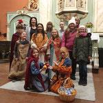 Kinder der TheaterSchmiede des Kulturvereins Schneverdingen