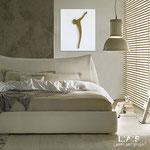 Crocifissi </br> Colore: bianco - oro </br> Codice: CR26-B | Misura: 50x60 cm