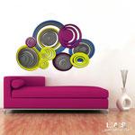 Novità </br> Colore: antracite - decoro multicolor </br> Codice: SI-183 | Misura: 150x100 cm