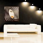 Quadri figurativi </br> Colore: sabbia - grigio marrone - marrone / decoro arancio </br> Codice: SI-122   Misura: 90x90 cm  </br> Codice: SI-122M   Misura: 60x60 cm