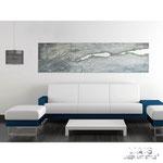 Quadro Shabby Chic </br> Colore: grigio luce - grigio blu shabby </br> Codice: SI-092-B | Misura: 180x58 cm </br> Codice: SI-092 Misura: 180x48 cm