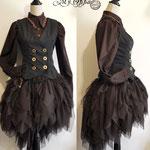 Commande ensemble Steampunk wester My Oppa  Equestrian costume