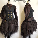 Commande ensemble Steampunk wester My Oppa  Equestrian costume equestre