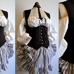 Commande My Oppa Steampunk pirate order Waistcoat dress