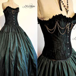 commande costume steampunk ensemble My Oppa gallery dress