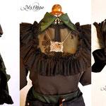 Commande ensemble steampunk et accessoire cheveux dress