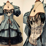 Commande My Oppa Alice steampunk dress