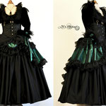 commande robe bal costume My Oppa  dress goth