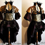 Commande tenue steampunk  dress costume rpg roleplay