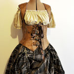 Commande My Oppa Steampunk set dress corsetry underbust buckle