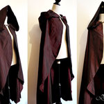 Chaperon rouge my oppa création commande cape