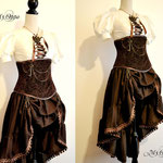 commande my oppa ensemble steampunk pirate custom order gallery dress