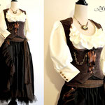 commande my oppa ensemble steampun pirate custom order gallery dress