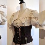 Commande My Oppa Steampunk serre taille corset underbust order