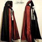 commande cape burlesque rouge noire My Oppa gallery