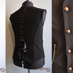 Commande My Oppa steampunk pirate gilet homme Waistcoat man