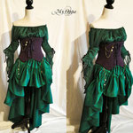 Commande my oppa steampunk ariel costume show