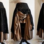 Commande My Oppa Steampunk pirate boheme bohemian skirt order