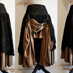 Commande My Oppa Steampunk pirate boheme bohemian skirt order