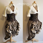 Commande My Oppa Order steampunk costume équitation spectacle costumec
