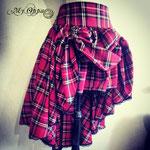 Commande jupe tartan steampunk My Oppa skirt