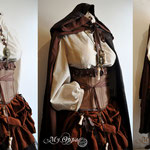 Commande My Oppa custom order costume fashion creation Vaudou rpg roleplay
