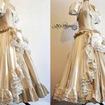 Commande stempunk robe de mariée My Oppa sur mesure
