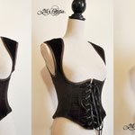 commande underbust steampunk/pirate My Oppa corset