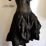 Commande jupe et serre taille steampunk