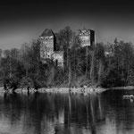 Am Stausee Ottenstein/NÖ, Ruine Lichtenfels, 23.1.2019