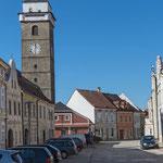 Zlabings/Slavonice CZ, Oberer Platz, 27.2.2019