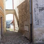 Zlabings/Slavonice CZ, abseits des Hauptplatzes, 27.2.2019