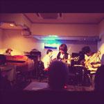 2012.6.2「MASQUERADE Special Live」with 國友章太郎(pf)内丸修司(gt)古賀俊作(dr)