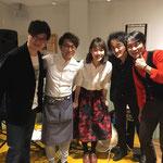 2018.12.16 BREAD&DISH MUGINOKI カナリアサウンド with タナカエリカ(tap dancer)