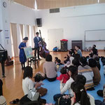 2018.11.14 宗像東郷コミュニティセンター with 中島千智(p,harp)