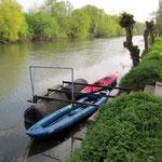 Boote geparkt