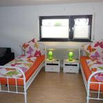 Ferienwohnung Butterfly - Einzelbetten 90 x 200 cm
