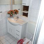Ferienwohnung Butterfly - Badschrank mit WC