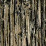 """Kambium 2"", Acryl auf Bw, 120 cm x 100 cm, 2012"