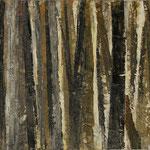 """""""Waldsichten 4"""", Acryl auf MDF, 30 cm x 60 cm, 2008"""