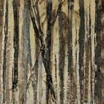 """""""Waldsichten 5"""", Acryl auf MDF, 30 cm x 60 cm, 2008"""