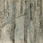 """""""Nebelgrau 1"""", Acryl auf MDF, 30 cm x 60 cm, 2008"""