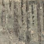 """""""Nebelgrau 6"""", Acryl auf MDF, 30 cm x 60 cm, 2008"""